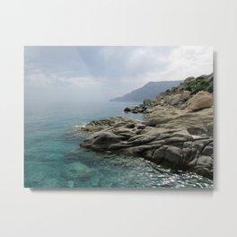 Ikarian coast Metal Print