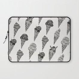 Ice Cream Cones – Black Palette Laptop Sleeve