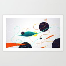 Fishing Hole Art Print