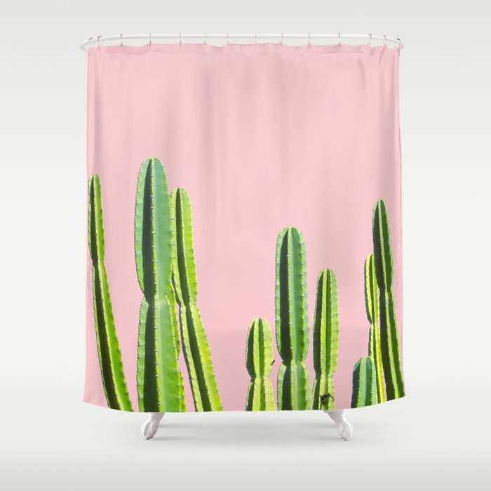 Cactus Shower Curtain By Frulala