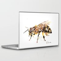 bee Laptop & iPad Skins featuring Bee by Elena Sandovici