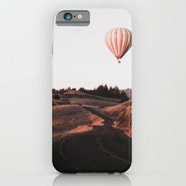 Air Balloon Road iPhone Case