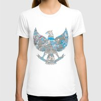 indonesia T-shirts featuring Indonesia Garuda by ginan perdana