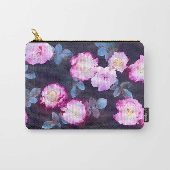 Twilight Roses Carry-All Pouch