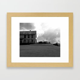House on the Hill Framed Art Print