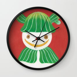LITTLE SNOWMAN Wall Clock