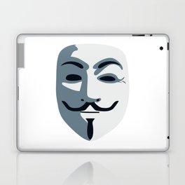 Anonymous Mask #society6 #decor #buyart #artprint Laptop & iPad Skin