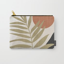 Tropical Leaf- Abstract Art 9 Carry-All Pouch