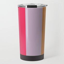 Painted Blocks Travel Mug
