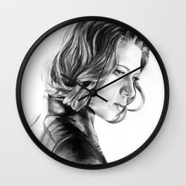 Black Widow Wall Clock