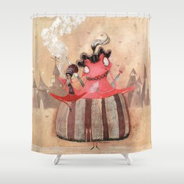 Marie Grenouille Shower Curtain