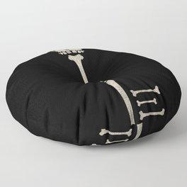 Skeleton Key Floor Pillow