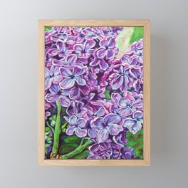 Lilacs Framed Mini Art Print