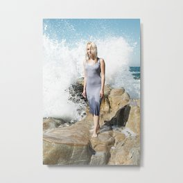 Ocean's Pulse Metal Print