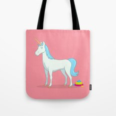 Unicorn Poop Tote Bag