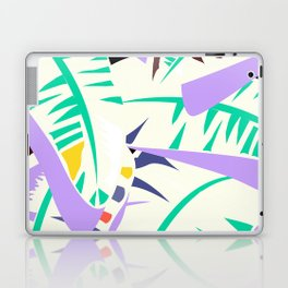 Memphis banana leaves Laptop & iPad Skin