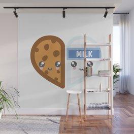 Milk & Cookie Wall Mural