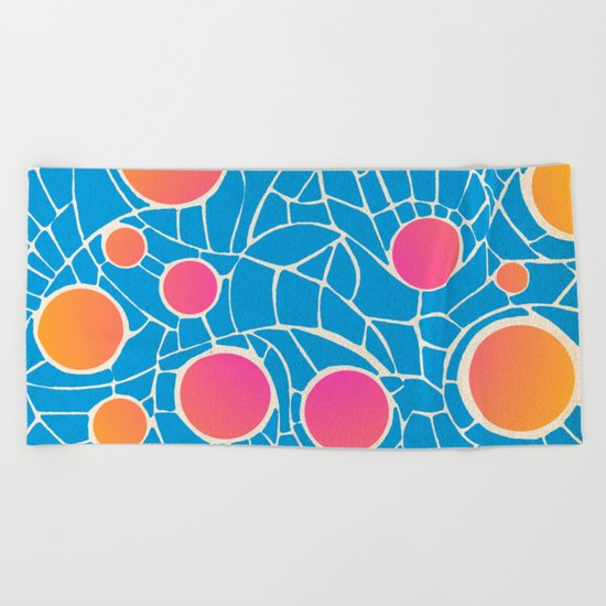 - summer life - Beach Towel