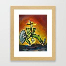 Dodad man. Framed Art Print