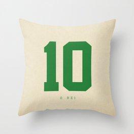 10 O Rei Throw Pillow