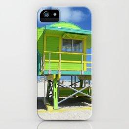 Lifeguard 1 iPhone Case