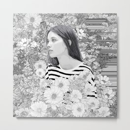 Lovely whisper Metal Print