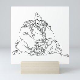 Shogun Mini Art Print