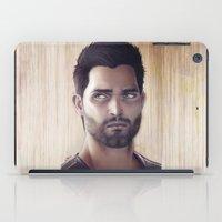 derek hale iPad Cases featuring Teen Wolf - Derek Hale V1 by Caim Thomas