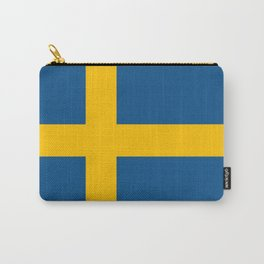 flag of sweden Carry-All Pouch