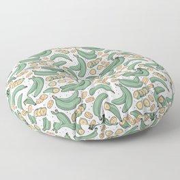 Platanitos White Background Floor Pillow