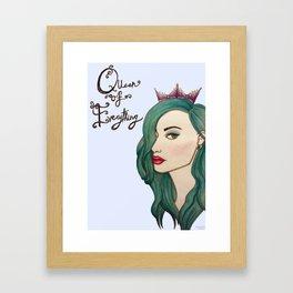 Queen of Everything  Framed Art Print