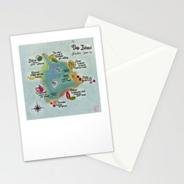 Big Island Fruitie's Guide Stationery Cards