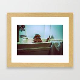12:56 am Framed Art Print