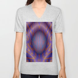 Bubble Burst Unisex V-Neck