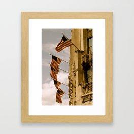 Flag Pride Framed Art Print