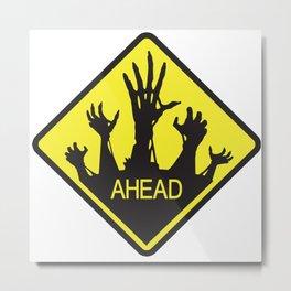 Dead Ahead Metal Print