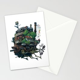 Studio Ghibli - Howl's Moving Castle Stationery Cards