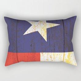 Texas Barn Flag Rectangular Pillow