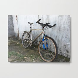 Stand alone Cycle Metal Print