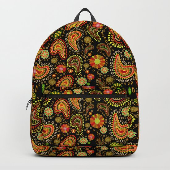 Paisley Power (Autumn) Backpack
