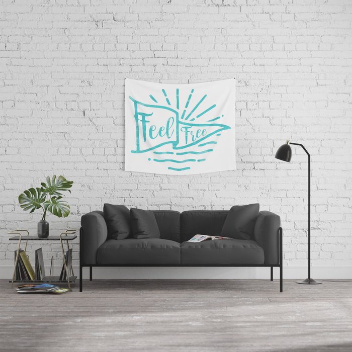 Feel Free Wall Tapestry