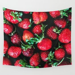 Strawberries Wall Tapestry