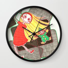 Me And My Clown Wall Clock