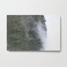 The Receding Mists Metal Print