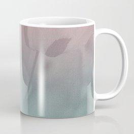 Pink Blue Poppies Coffee Mug