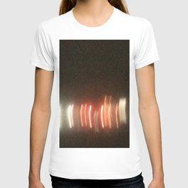 Abstracte Light Art in the Dark Version 25 T-shirt