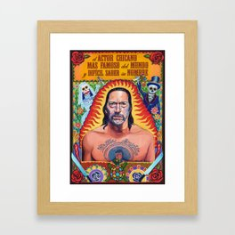 Danny Machete Trejo Framed Art Print