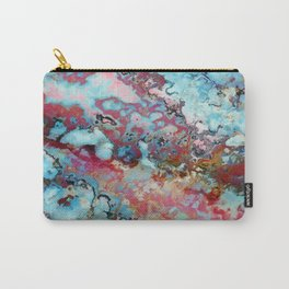 Colorful abstract marble II Carry-All Pouch