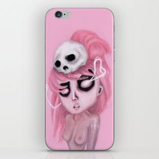 Bubblegum Pink iPhone & iPod Skin