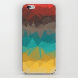 Tricolors iPhone Skin